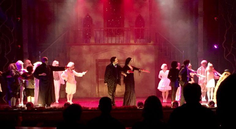 "Standing ovation for the cast and crew of ""The Addams Family."""