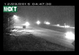 Here's a look from the Salem Welcome Center camera on I-93 at 4:47 am.