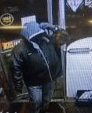 Masked man who attempted to rob clerk at 61 Market.