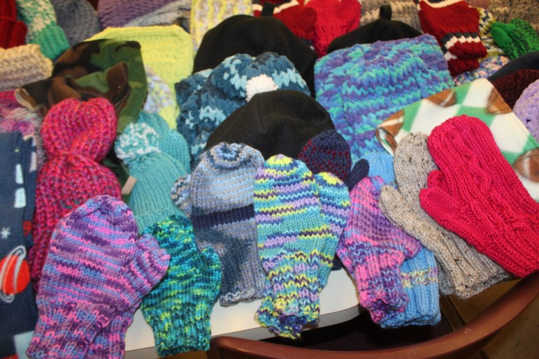 Warm, colorful and made with love from the ladies at the William B. Cashin Center.