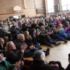 It was standing room only at the YWCA in Manchester during Sunday's ACA rally.
