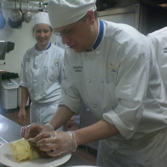 Jon Talbot wants to save the SNHU culinary arts program, which is on the chopping block.