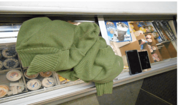 Sweater and two cell phones left behind at Z&J.