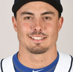 New Hampshire Fisher Cats pitcher Connor Greene
