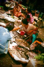 Street Market in Yangoon