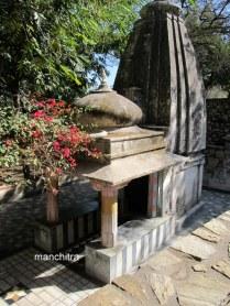 Shiva's temple at Chetak's Memorial