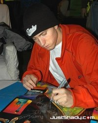 Eminem è mancino