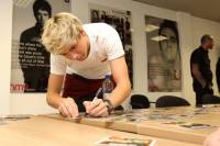 Niall Horan degli One Direction è mancino