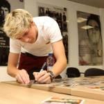 Niall Horan degli One Direction è mancino