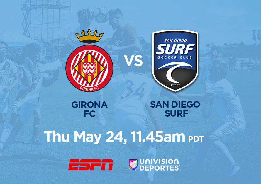 Girona Under-14 vs. San Diego Surf Under-14, May 24, 11:40am PDT