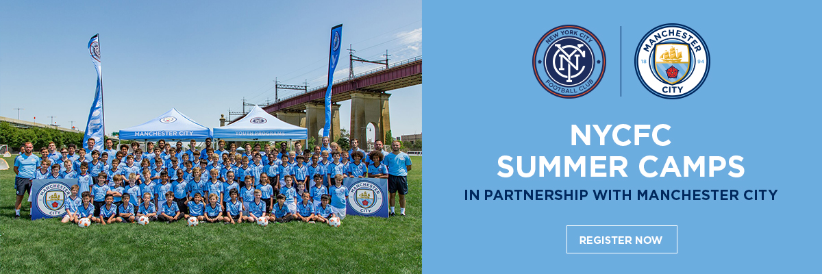 NYCFC Manchester City Summer Camps