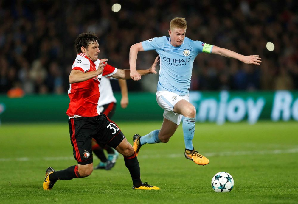 'Naked Conga' for Manchester couple if De Bruyne doesn't win PFA award