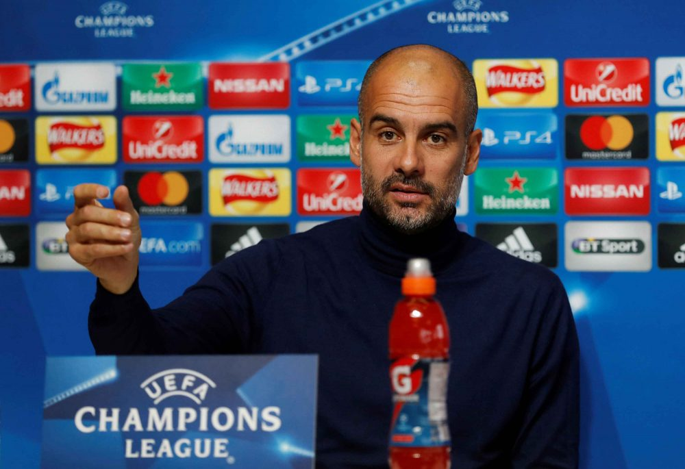 Guardiola grateful to Manchester City
