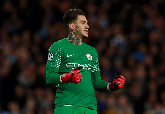 Ederson: I could play outfield for City