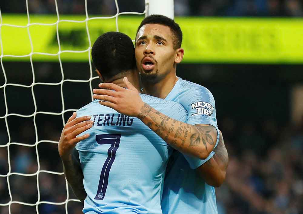 Gabriel Jesus hailed 'the next Ronaldo'