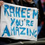 Raheem Sterling banner