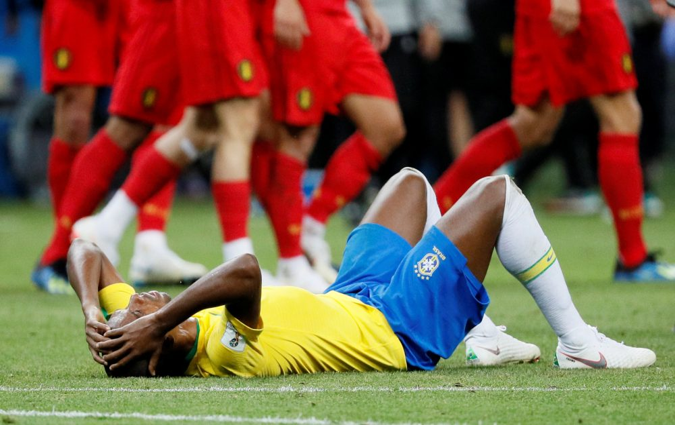 Football fans everywhere slam shameful racism suffered by Fernandinho following Brazil's World Cup exit