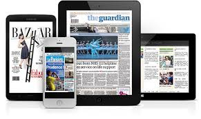 pressreader on different devices