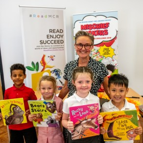 Summer reading challenge launch