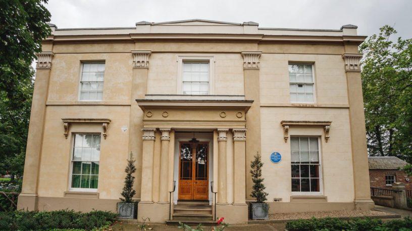 Image of Elizabeth Gaskells House courtesy of Marketing Manchester