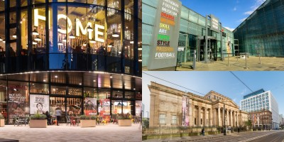 Exterior of HOME, National Football museum and Manchester art Gallery