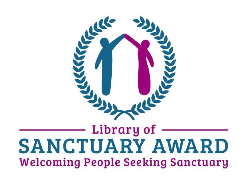 Libraries of Sanctuary award logo