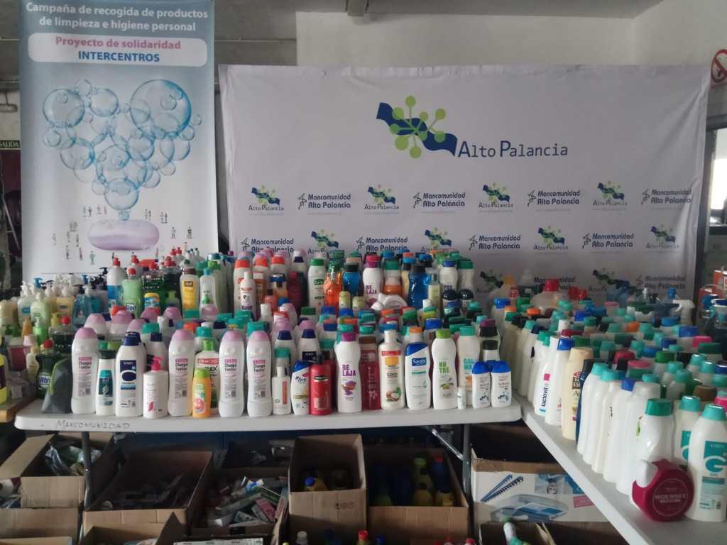Campaña de recogida de productos de limpieza e higiene personal