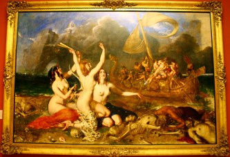 William Etty - The Sirens and Ulysses, 1837