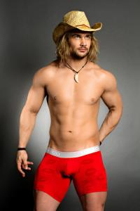 Mundo Unico San valentin longer leg boxer brief