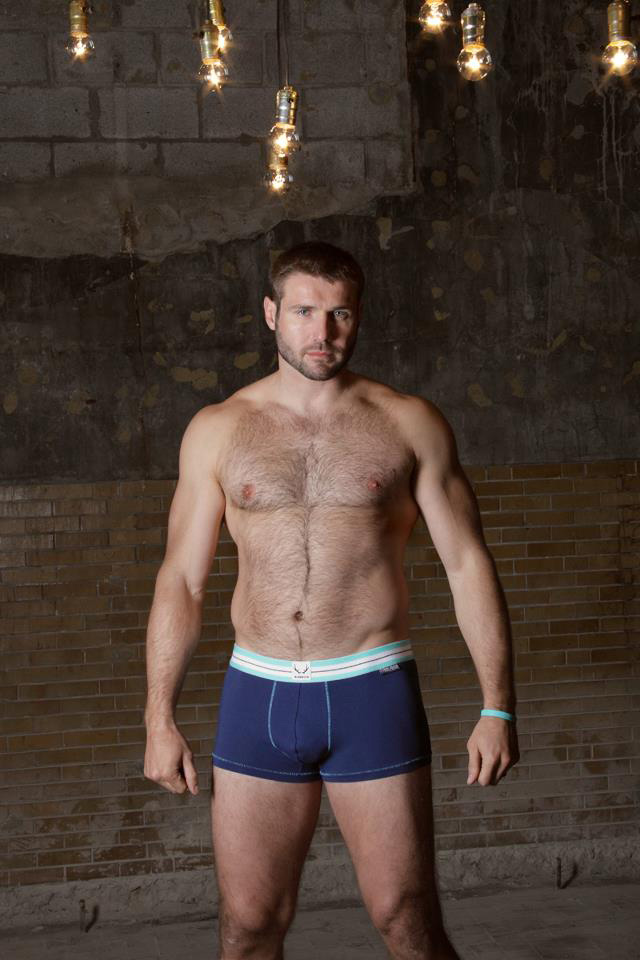 Bluebuck release the Ben Cohen 'Stand Up' underwear collection… with Ben as the model.