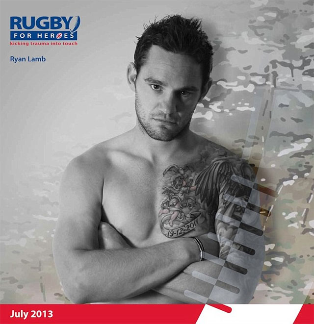 Ryan Lamb - Rugby For Heroes