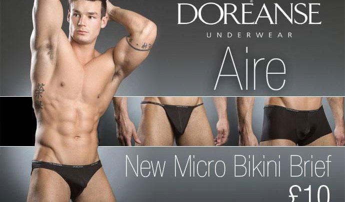 Doreanse Micro Bikini Brief at Dead Good Undies
