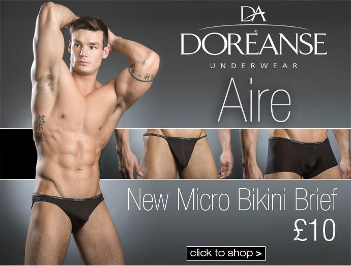 Doreanse Micro Bikini Brief at Dead Good Undies