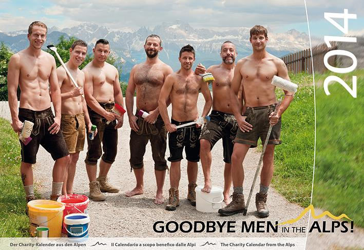 Men In The Alps 2014 means goodbye