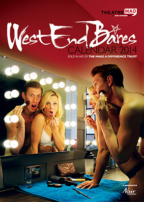 London's West End Dares To Bare … for charity!