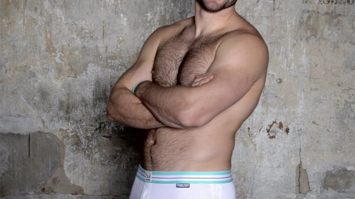 Ben Cohen in Bluebuck Underwear – supporting the Stand Up Foundation