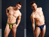 cellblock 13 knockout jockstrap yellow blue