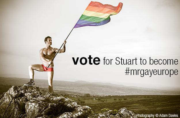 vote stuart hatton mr gay europe