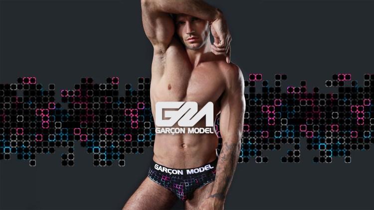 Garcon Model Men Underwear Galaxy Collection 16