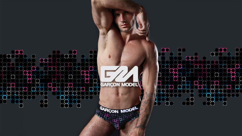 Garcon Model Men Underwear Galaxy Collection 16