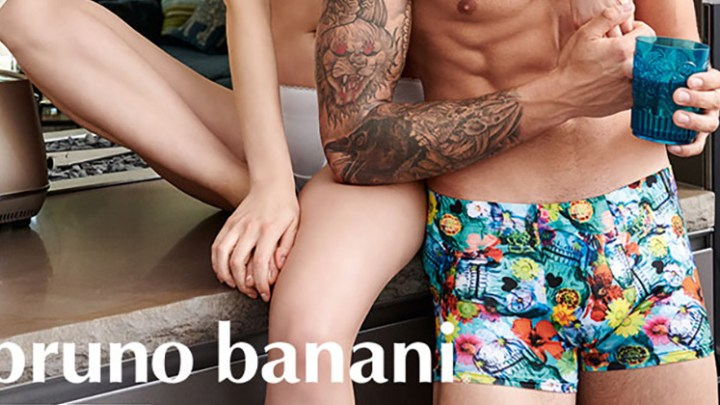 Flower Skulls and Tiger Parades – the latest designs from Bruno Banani at Dead Good Undies