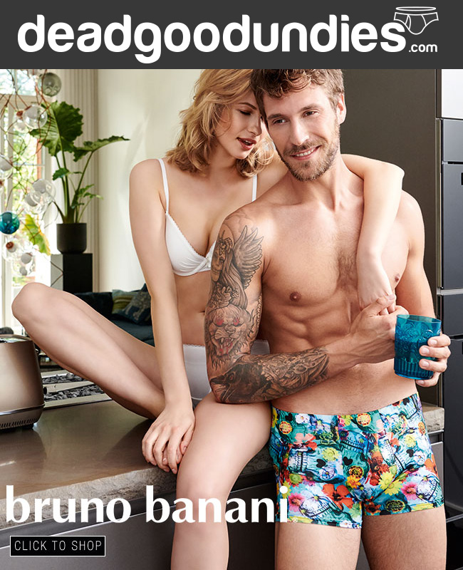 Bruno Banani Flower Skull Short