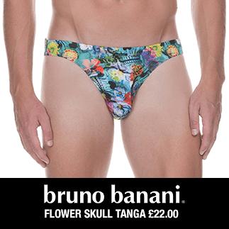 Bruno Banani Flower Skull Tanga