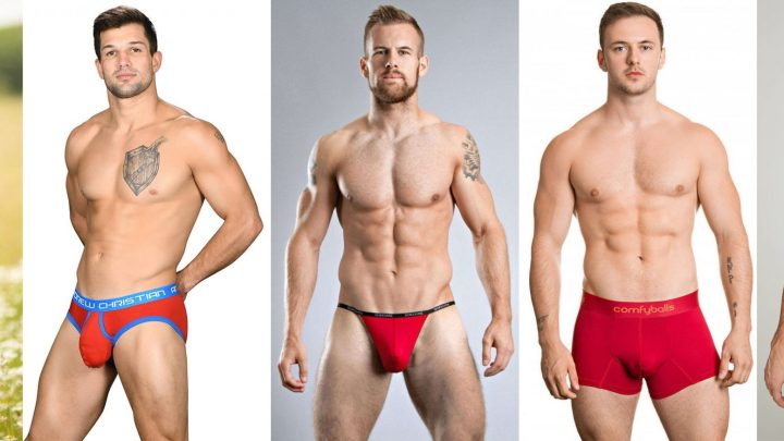 From Italy – wear red underwear for New Year's Eve
