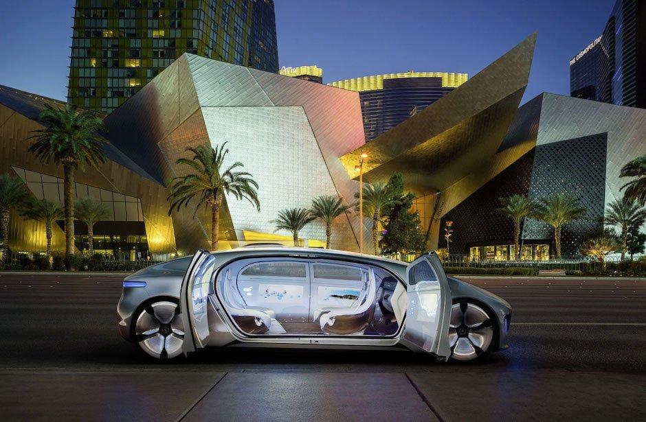 Mercedes-Benz F 015 Luxus Autonomes Fahren Las Vegas