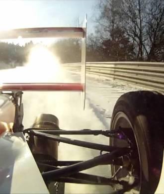 Any Gülden Nordschleife Schnee Nürburgring Formel Wagen Traktion Rennstrecke Winter