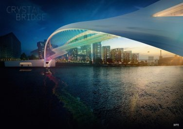 London Wasser Brücke Bogen