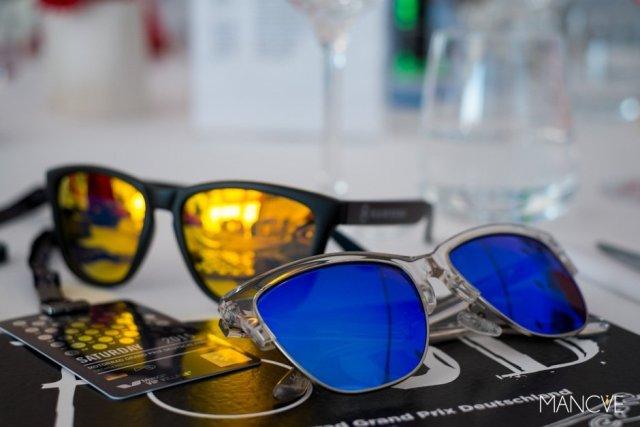 Hawkers Air Sky Classic X Carbon Black Daylight One Sonnenbrillen Verspiegelt Sunglasses MotoGP Sachsenring VIP
