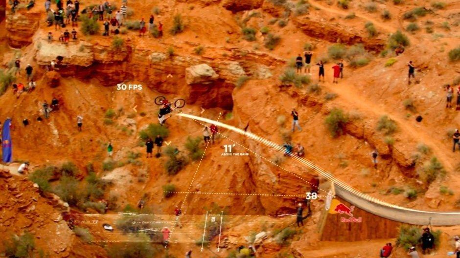 Kelly McGerry Backflip Utah Canyon USA Stunt Downhill Bike
