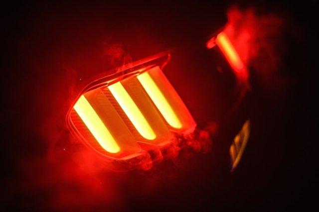 ford mustang gt rtr led bremslichter smoke burnout